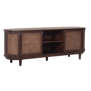 Yazzie Solid Wood TV Stand For TVs Up To 88