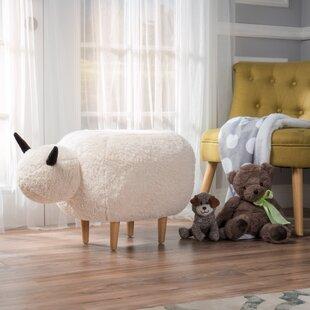 Glasper Sheep Ottoman Viv + Rae