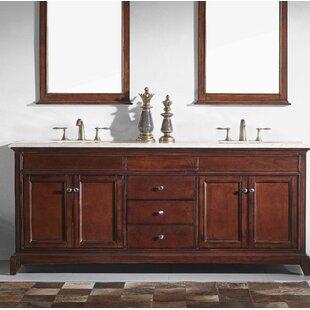 Price comparison Pineville 72 Double Bathroom Vanity Set ByCharlton Home