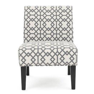 Yokota Slipper Chair (Set of 2) by Highland Dunes