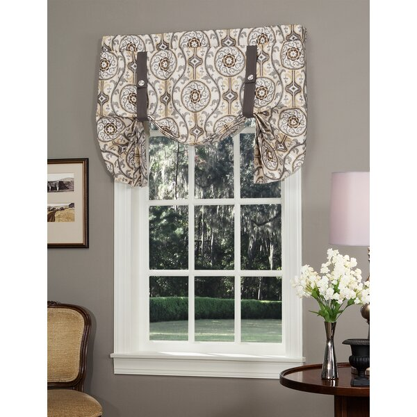 Darby Home Co Gilberto Tie Up 50 Window Valance Reviews Wayfair
