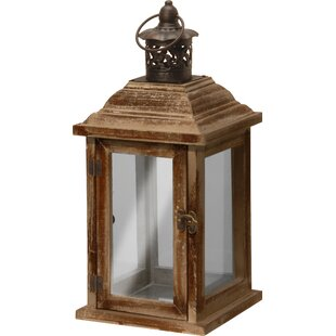 Three Posts Metal Lantern