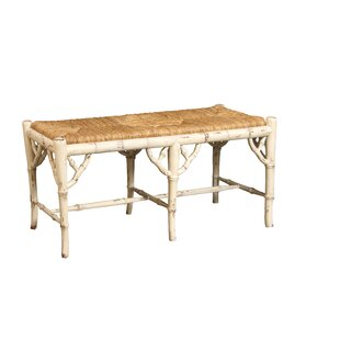 Chinoiserie Wood Bench by Manor Born Furn..