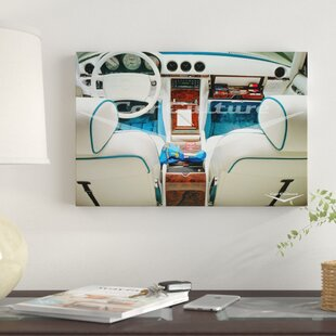 'Hollywood Boudoir - Mercedes-Benz 560'sL Dashboard' Graphic Art Print on Canvas By East Urban Home