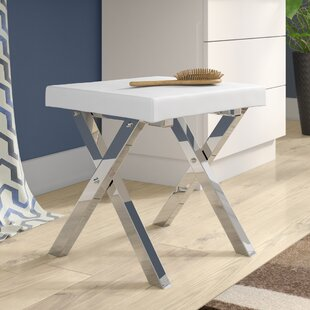 Best Choices Yair Folding Vanity Stool By Mercury Row