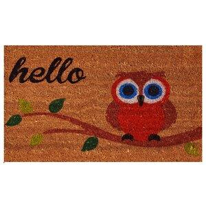 Owl Hello Doormat