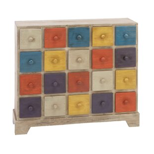 Cole & Grey 20 Drawer Accent Chest