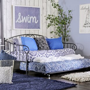 Vivienne Daybed with Trundle by World Menagerie