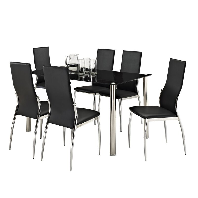 aspect design essgruppe jalisa mit 6 st hlen bewertungen. Black Bedroom Furniture Sets. Home Design Ideas