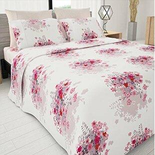 4 Piece Sapphire Egyptian-Quality Cotton Sheet Set ByBolbom Inc