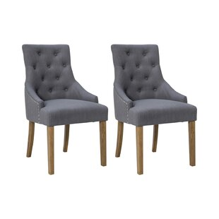 Dordogne Upholstered Dining Chair (Set Of 2) By August Grove