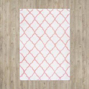 Kellie Baby Pink Indoor Area Rug