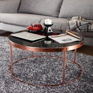 Chartreuse Contemporary Coffee Table by Merc..