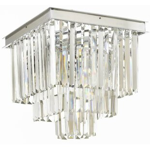 Rosdorf Park Larrison 4-Light Flush Mount