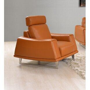 Attirant Leather Armchair