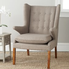 Gomer Wing back Chair by Safavieh