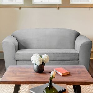 Harper Box Cushion Loveseat Slipcover by CoverWorks