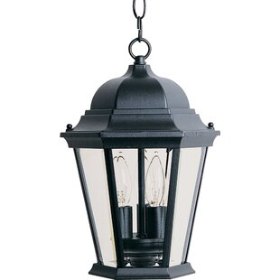 Compare prices Listermann 3-Light Outdoor Hanging Lantern By Alcott Hill