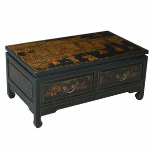 Oriental Style Coffee Table by NES Furniture