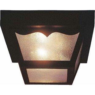 Volume Lighting 2-Light Flush Mount