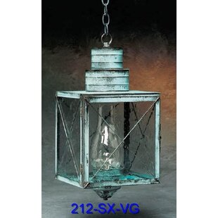Shop For 200 Series 1-Light Outdoor Hanging Lantern By Brass Traditions