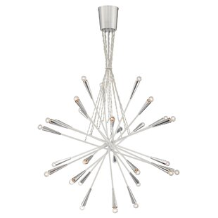 Zazu 28-Light Sputnik Chandelier by Eurofase