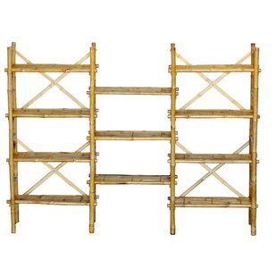 Bay Isle Home Porter Etagere Bookcase