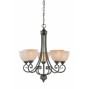 Ora 5-Light Shaded Chandelier