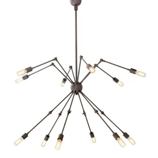 Spider 12-Light Novelty Chandelier by Eichholtz