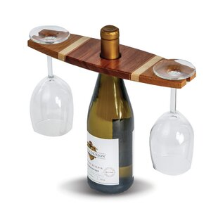Ferrin 1 Bottle Tabletop Wine Glass Rack ..