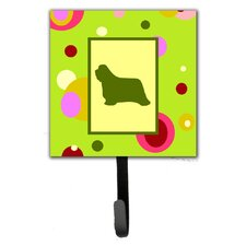 Bearded Collie Leash Holder and Wall Hook by Caroline's Treasures