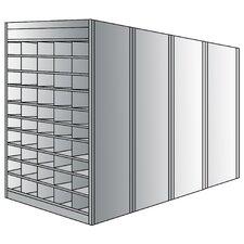 87 H 10 Shelf Shelving Unit Starter by Hallowell