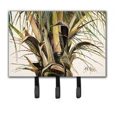 Top Coconut Tree Leash Holder and Key Hook by Caroline's Treasures