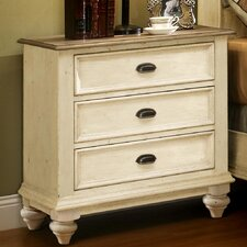Coolidge 3 Drawer Bachelor's Chest by One Allium Way