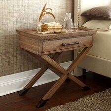 Marshall Cross Leg Side Table by Birch Lane