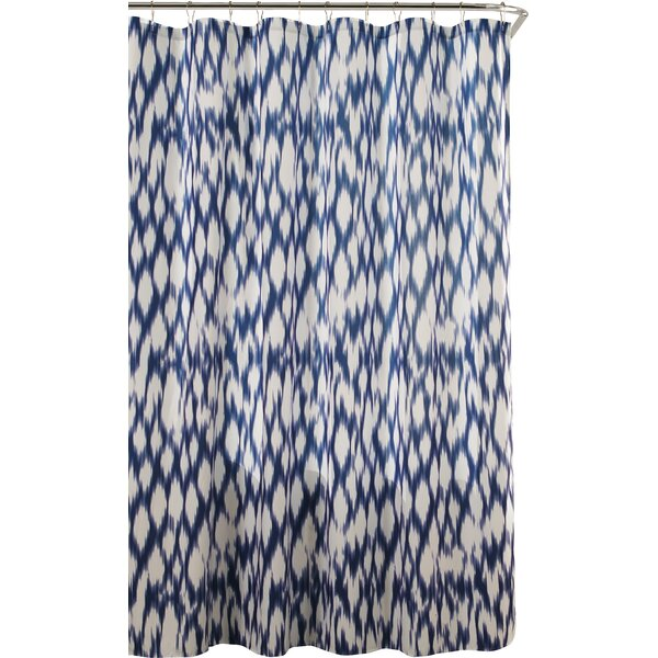 dr international caitlin shower curtain in cobalt bluekensie