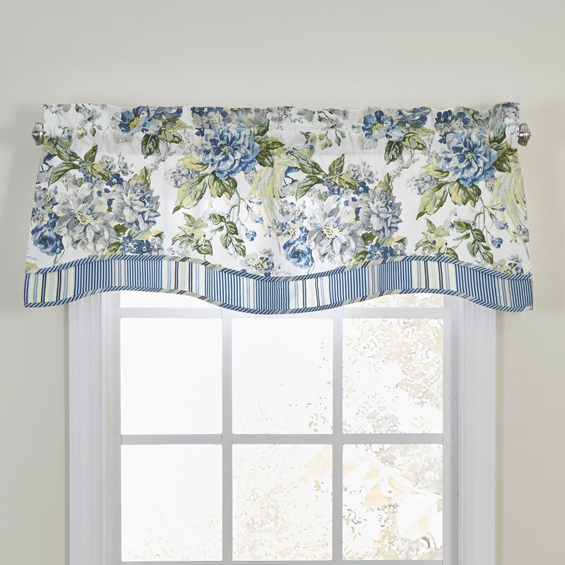 waverly valances & kitchen curtains you'll love | wayfair