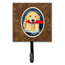 Golden Retriever Leash Holder and Key Hook by Caroline's Treasures