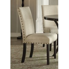 Hadas Fabric Parsons Chair (Set of 2) by ACME Furniture
