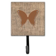 Butterfly Leash Holder and Wall Hook by Caroline's Treasures