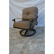 Kristy Swivel Club Chair by Darby Home Co