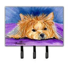 Yorkie Leash Holder and Wall Hook by Caroline's Treasures