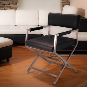 Hardin Leather Dining Chair by Home Loft Concepts