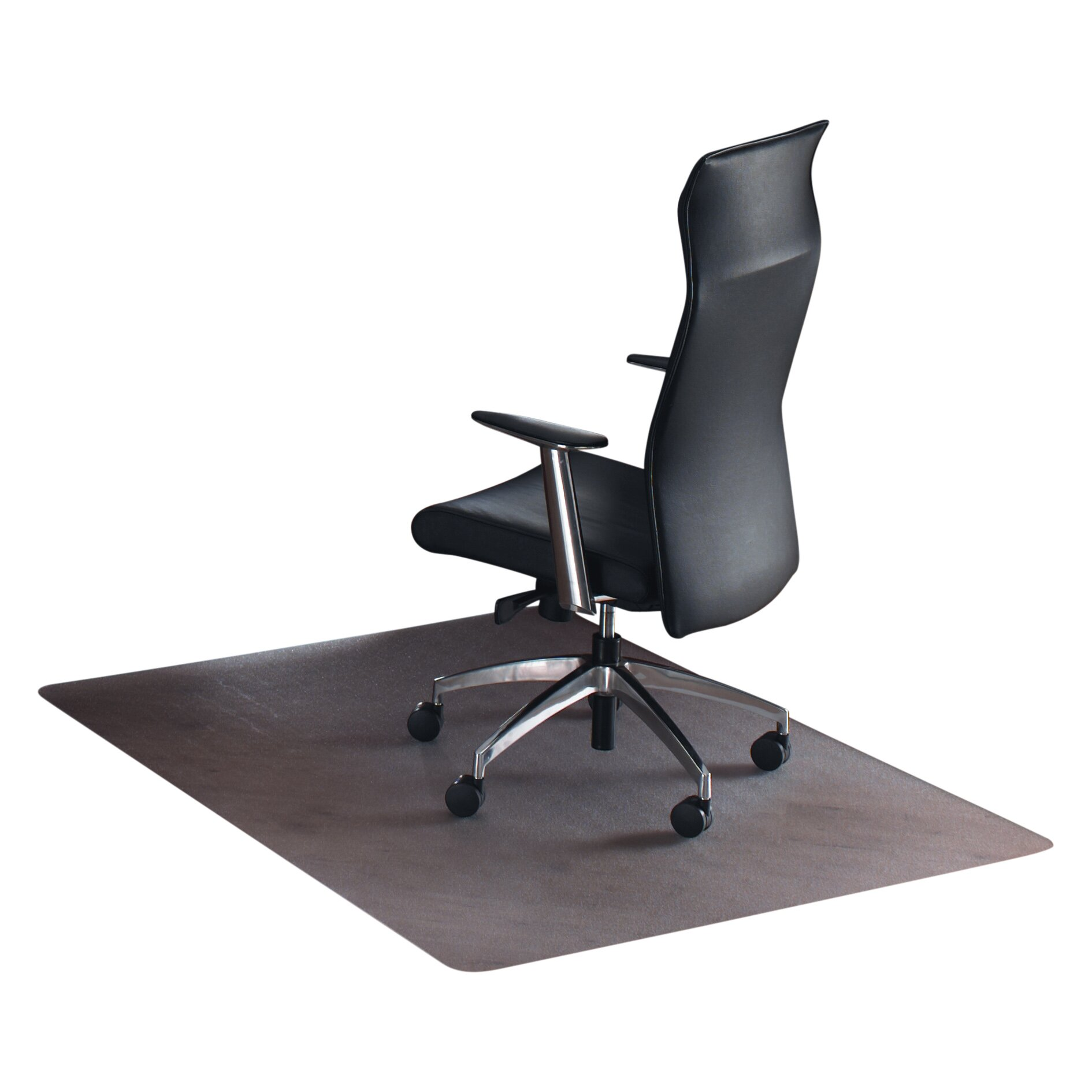 Desk chair mat for carpet
