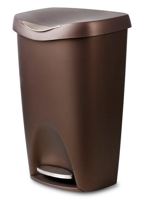 kitchen trash cans you'll love | wayfair