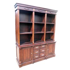 Open Front 79 Oversized Set Bookcase by D-Art Collection