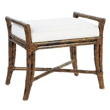 Malacca Rattan Bedroom Bench by David Francis Furniture