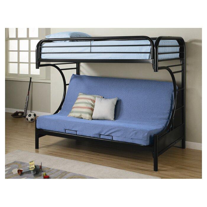 Fall Creek Twin over Full Futon Bunk Bed - Wildon Home ® Fall Creek Twin Over Full Futon Bunk Bed & Reviews