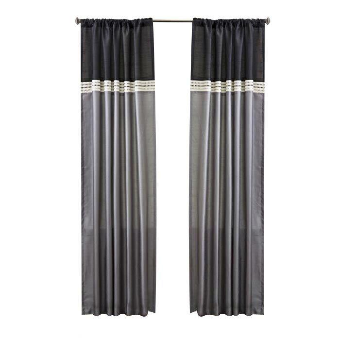 Alcott Hill Culpeper Striped Blackout Rod Pocket Curtain Panels Reviews