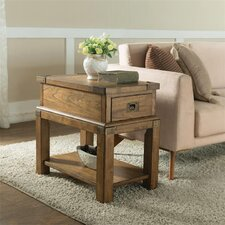 Monarch Chairside Table by Loon Peak
